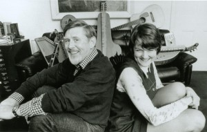 Ewan MacColl & Peggy Seeger, 1980 (by Tom Paley)